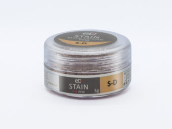 Reddish grey stain