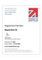 Made in Britain certificate